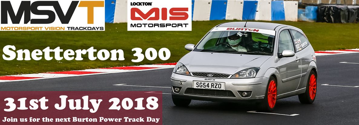 Track Day Banner